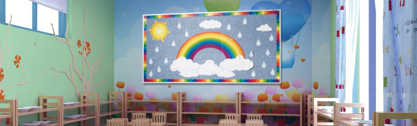 Fun Bulletin Board for Kids