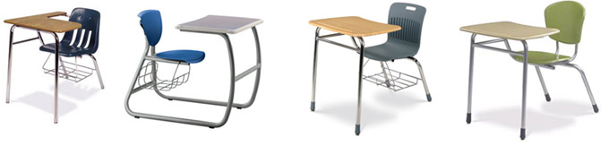 Types Of Combo School Chair Desks