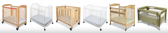 Types of Commercial Compact Cribs