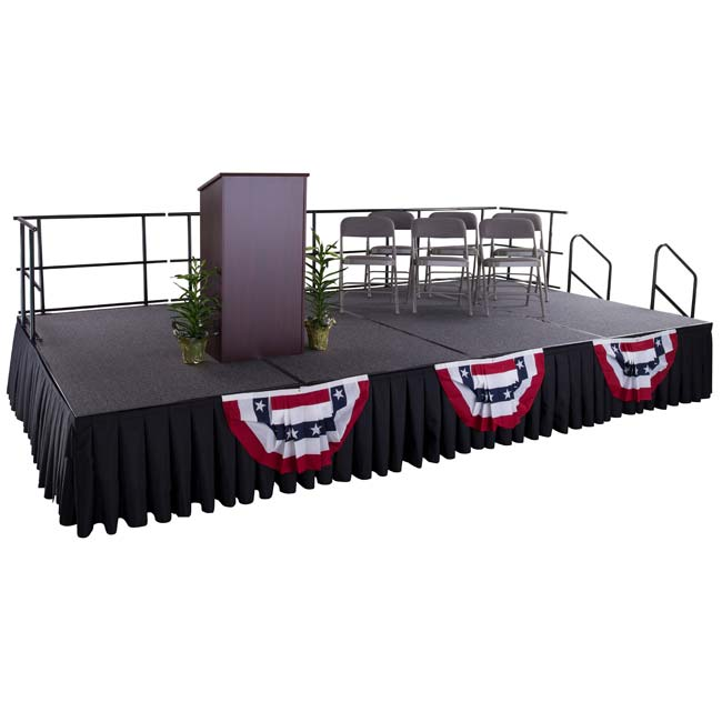 Click here for more Portable Stages by Worthington
