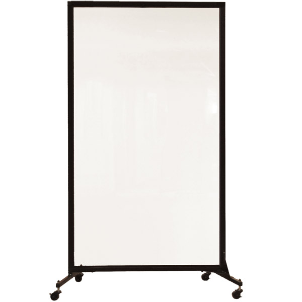 Screenflex Clear Acrylic Room Divider 1 Panel 34 L Crd1