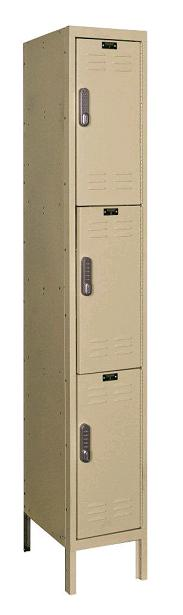 uel1228-3-digitech-triple-tier-1-wide-lockers-w-electronic-lock-unassembled-12-w-x-12-d-x-24-h