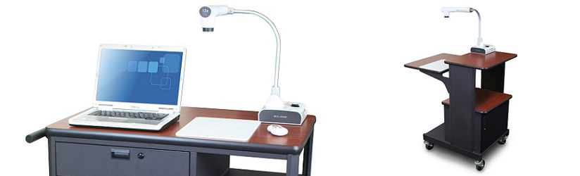 Examples of Document Camera Carts