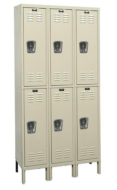 u3588-2-premium-double-tier-3-wide-lockers-unassembled-15-w-x-18-d-x-36-h
