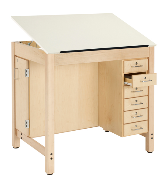 Delightful Dt 33a Drawing Table W 1 Piece Top