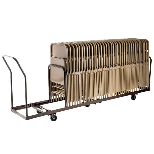 National Public Seating Standard Folding Chair Caddy 48