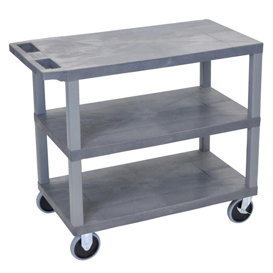 ec222hd-g-e-series-flat-shelf-cart-heavy-duty-w-3-shelves-gray