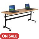 Click here for more Economy Flipper Folding Training Tables by Balt by Worthington