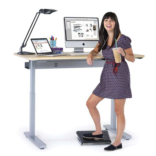Anthro electic standing office desk