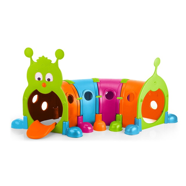 elr-12520-feber-gus-climb-n-crawl-4-section-caterpillar-vibrant-color