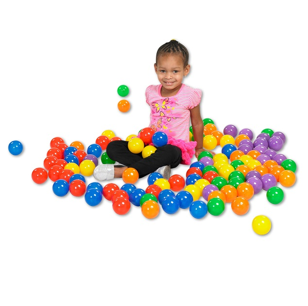 Ecr4kids 120 Piece Softzone 174 Primary Balls Elr 12602