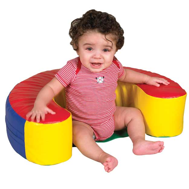 Ecr4kids Softzone Sit And Support Infant Ring Elr 12627