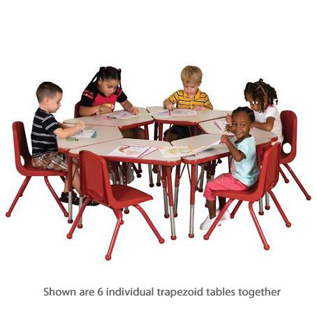 elr-14118-b-activity-table-w-ball-glides-20-x-33-trapezoid