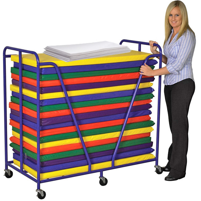elr-16311-xx-package-rest-mat-trolley-with-20-rest-mats-and-sheets