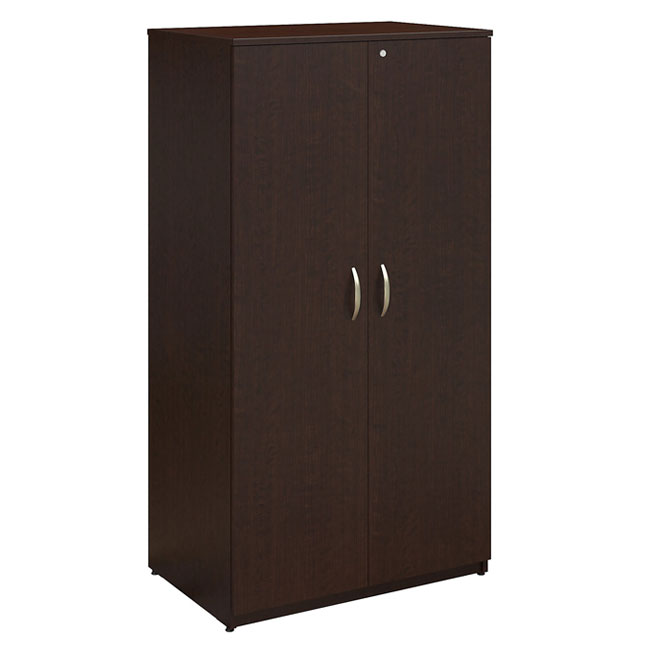 oiah013mr-office-in-an-hour-wardrobe-storage-cabinet  sc 1 st  Worthington Direct & Bush Business Furniture Office In An Hour Wardrobe Storage Cabinet ...