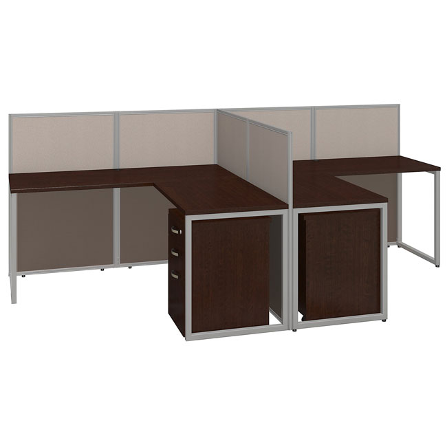 Eod560smr 03k Easy Office 60w Two Person L