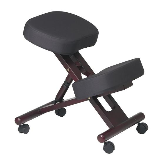 kcw773-ergonomic-knee-chair-mahogany-wood
