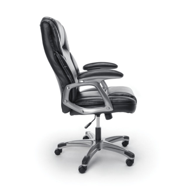 Ofm Essentials Ergonomic High Back Leather Executive Chair