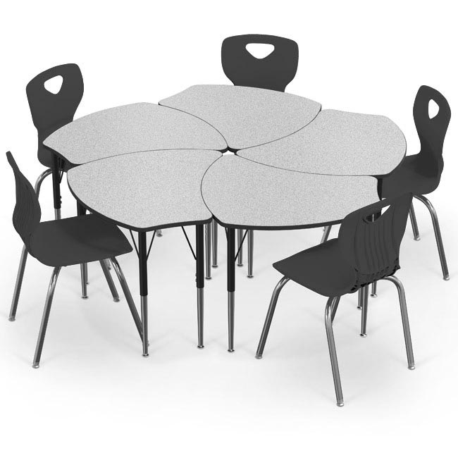 quo0005471-economy-shapes-desk-essential-chair-package-5-desks-5-14-h-chairs