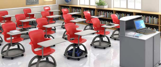 Ethos Mobile Chair with Tablet