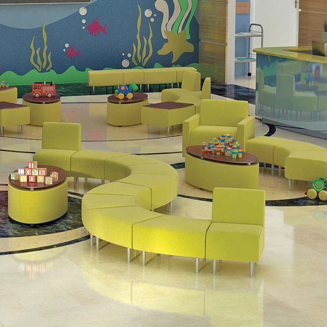 Evette Child Size Reception Furniture