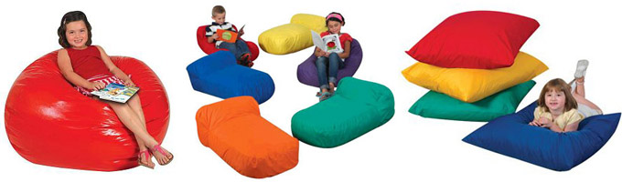Example of Bean Bag and Kid's Soft Seating