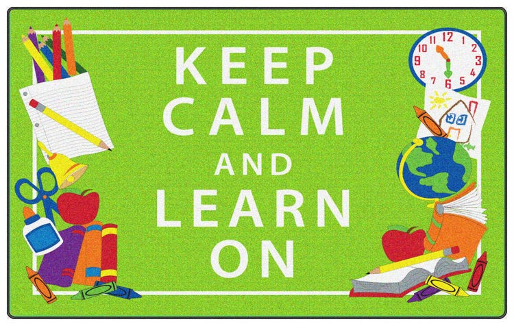 fe348-22a-keep-calm-and-learn-on-green-4-x-6