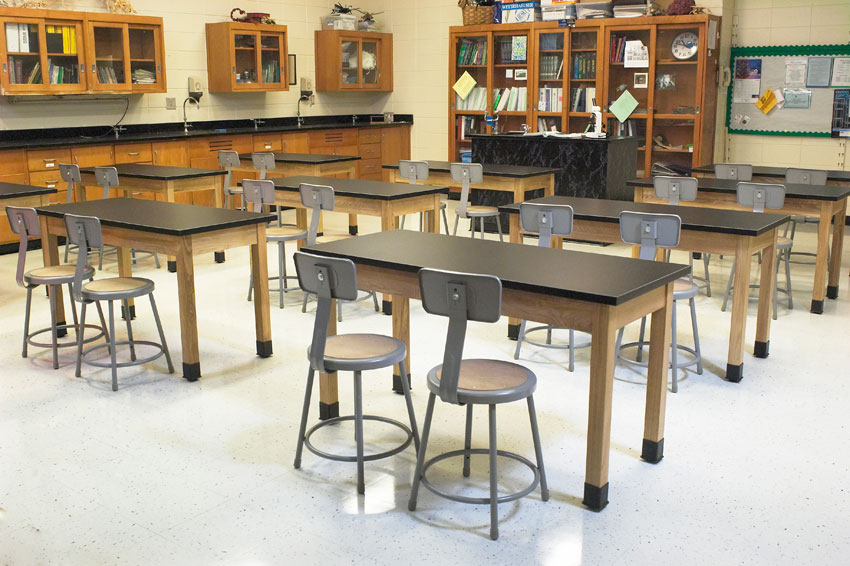 Science Laboratory Classroom Tables