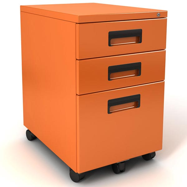 Ordinaire Mobile Pedestal File Cabinet By Paragon, FILE IT   Stock #99413