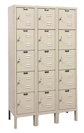 u3256-5-premium-five-tier-3-wide-lockers-unassembled-12-w-x-15-d-x-12-h
