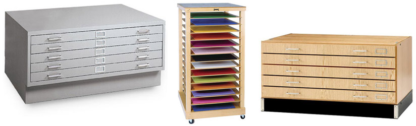Examples of Flat File Cabinets