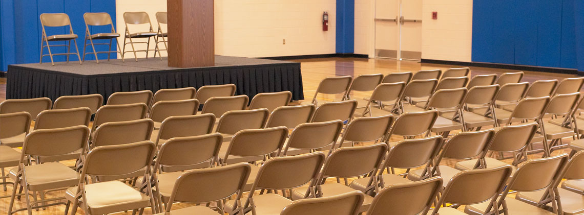 Folding Chairs for Graduation Ceremony