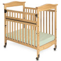 Click here for more SafeReach Side Gate Biltmore Compact Crib by Foundations by Worthington