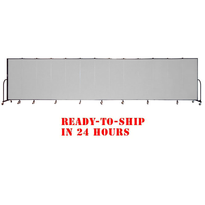 fsl6013-dg-13-panel-freestanding-partition-24-hour-quick-ship