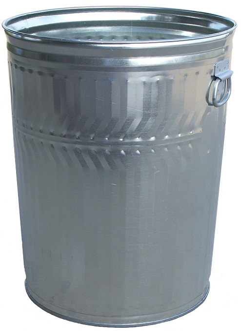 Witt Industries Galvanized Metal Heavy Duty Can 32gal