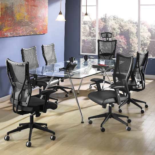 Ofm Glass Conference Table X Gt Conference Tables - Conference table cubby