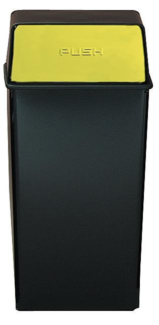 36ht-11-monarch-series-hamper-top-receptacle-36-gallon-black-w-brass-push-doors