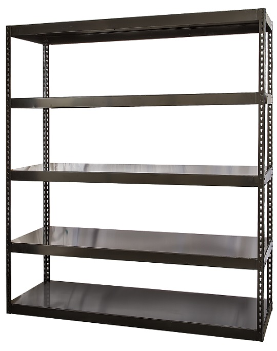 hcr722496-5me-high-capacity-waterfall-deck-shelving