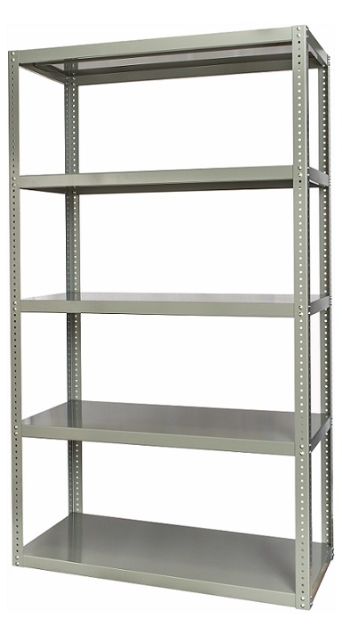 hcs361884-5hg-high-capacity-reinforced-bolted-shelving