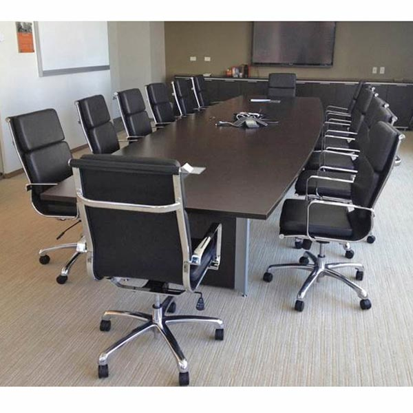 Hendrix High Back Leather Conference Chair By Woodstock Marketing, HENDRIX  HI   Stock #48014