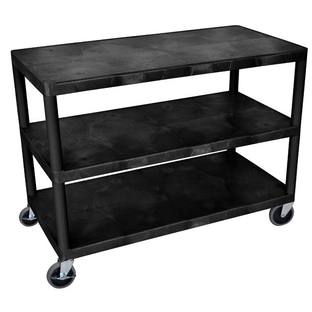 hew335-industrial-cart-w-3-shelves