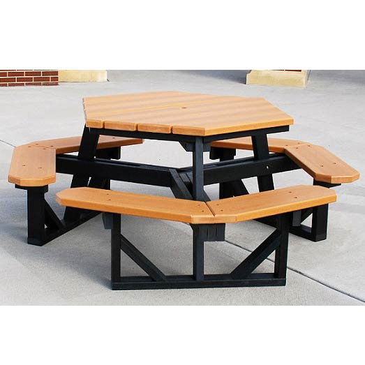 hex-outdoor-picnic-tables-by-jayhawk-plastics