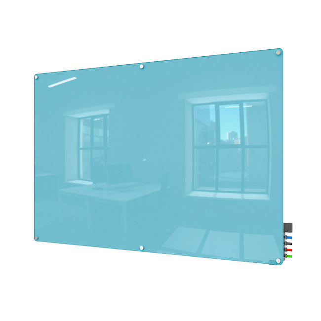 hmyrm48xx-harmony-magnetic-color-glass-markerboard-w-radius-corners-4-x-8