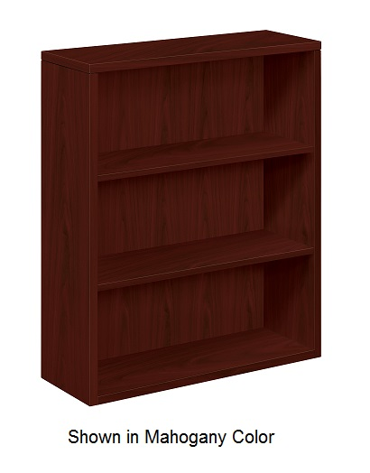 h105533-10500-series-bookcase-w-3-shelves
