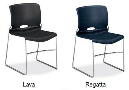 Olson Stack Chair- Set Of 4 by Hon H4041 - Stock #83296  sc 1 st  Worthington Direct & Hon Olson Stack Chair - H4041   Plastic Stacking Chairs ...