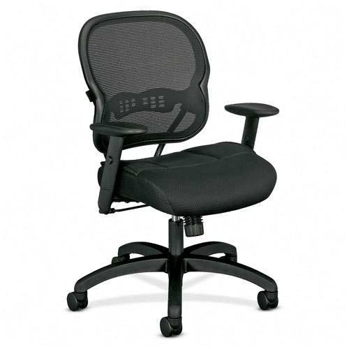 hon basyx mesh mid back office chair bsxvl712mm10 mesh office