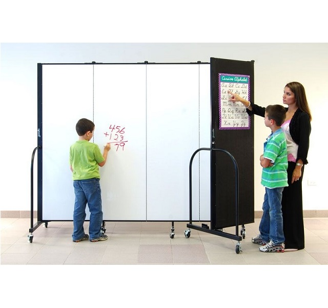 Wet/Dry Erase Room Divider by Screenflex