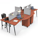 Click here for more iFlex Modular Desks by Balt by Worthington
