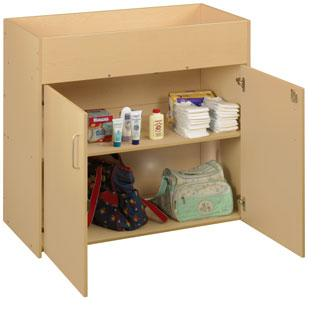 3091a-eco-infant-changing-table-w-shelves-doors