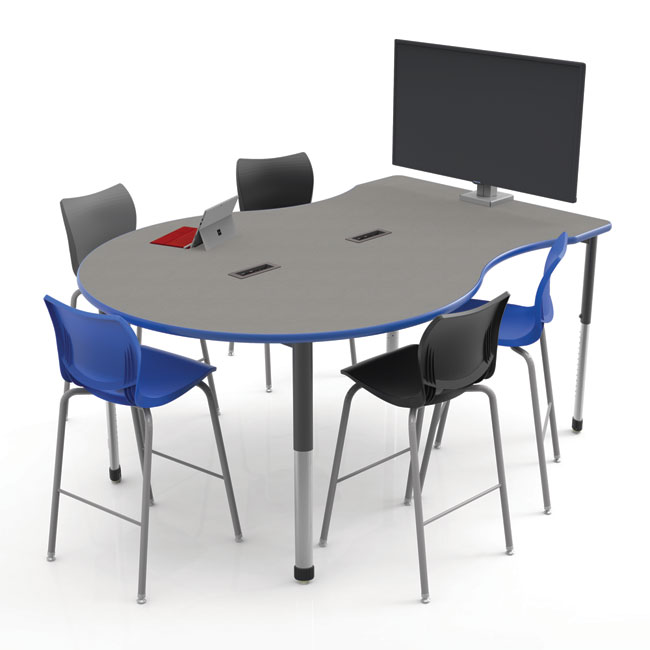 Interchange Engage Multimedia Table by Smith System